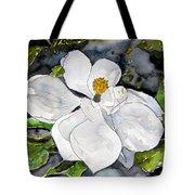 Magnolia Tree Flower Tote Bag