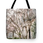 Magnolias In Back Bay Tote Bag