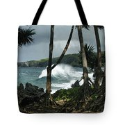 Mahama Lauhala Keanae Peninsula Maui Hawaii Tote Bag