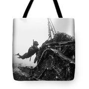 Mahi Wreck Tote Bag