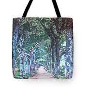 Mahogany Avenue Tote Bag