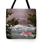 Maid Of The Mist Canadian Boat Tote Bag