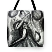 Maiden Of The Moon Tote Bag
