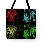 Maidenhair Ferns Pop Art Tote Bag