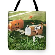 Mail Boxes  Tote Bag