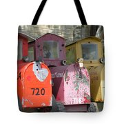Mail Boxes Wi Tote Bag