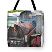 Mail Truck Tote Bag