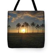 Maili Sunset Tote Bag
