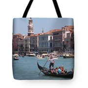 Main Canal Venice Italy Tote Bag