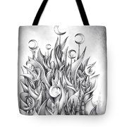 Main Castle Of The Silver Moon Empire Tote Bag