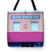 Main Drug Company Tote Bag