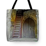Main Entrance To St Mary's Church At Brading Tote Bag