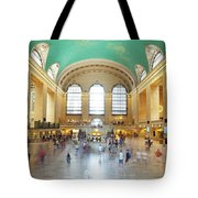 Main Hall Grand Central Terminal, New York Tote Bag