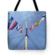 Main Mast Of Ss Great Britain At Bristol England Tote Bag