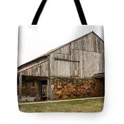 Main Part Of Amana Farmer's Market Barn Amana Ia Tote Bag
