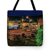 Main Street Christmas Tote Bag
