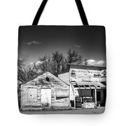 Main Street In Fort Shaw, Montana Tote Bag