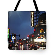 Main Street Kansas City Tote Bag