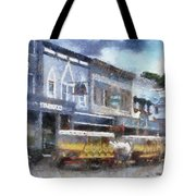 Main Street Mackinac Island Michigan Pa 04 Tote Bag