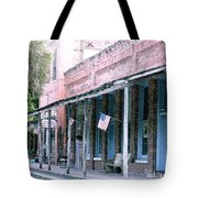 Main Street Micanopy Florida Tote Bag