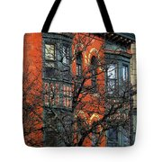 Main Street Middletown On A Sunny Spring Day Tote Bag