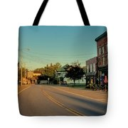 Main Street - Old Forge New York Tote Bag