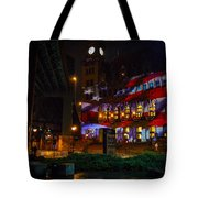 Main Street Station At Night Tote Bag