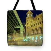 Main Street Station-vertical Tote Bag