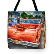 Main Street Surfing Tote Bag