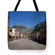 Main Street Telluride Tote Bag by David Lee Thompson