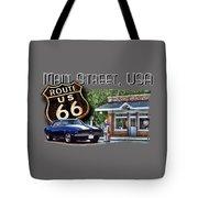 Main Street, Usa Camaro Tote Bag