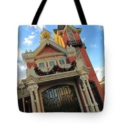 Main Street Usa Fire Department Tote Bag