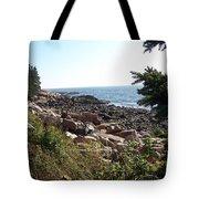 Maine Atlantic Ocean Coast Tote Bag