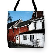 Maine Blue Hill Alleyway Tote Bag