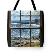 Maine Coast Picture Frame Tote Bag
