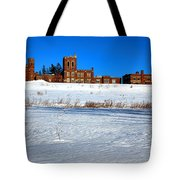 Maine Criminal Justice Academy In Winter Tote Bag