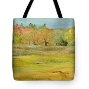 Maine Marsh Tote Bag