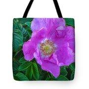 Maine Rose Tote Bag