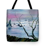 Maine Seawatch Tote Bag