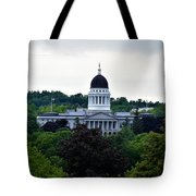 Maine State House Tote Bag