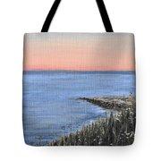 Maine Sunset Tote Bag