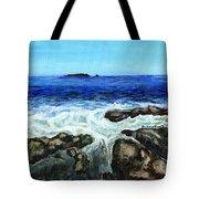 Maine Tidal Pool Tote Bag
