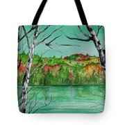 Maine's Autumn Finery Tote Bag