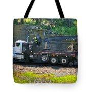 Maintenance Truck Tote Bag