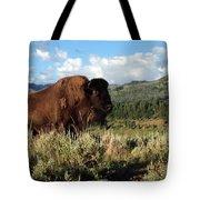 Majestic Bison Tote Bag