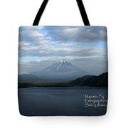 Majestic Fuji - Haiku Tote Bag