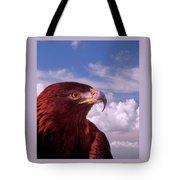 Majestic Golden Eagle Tote Bag