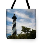 Majestic Hatteras Lighthouse Tote Bag