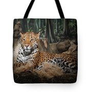 Majestic Leopard Tote Bag