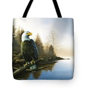 Majestic Light - Eagle Tote Bag